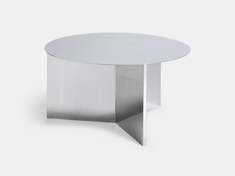 Hay Slit Table Xl Polished Mirror
