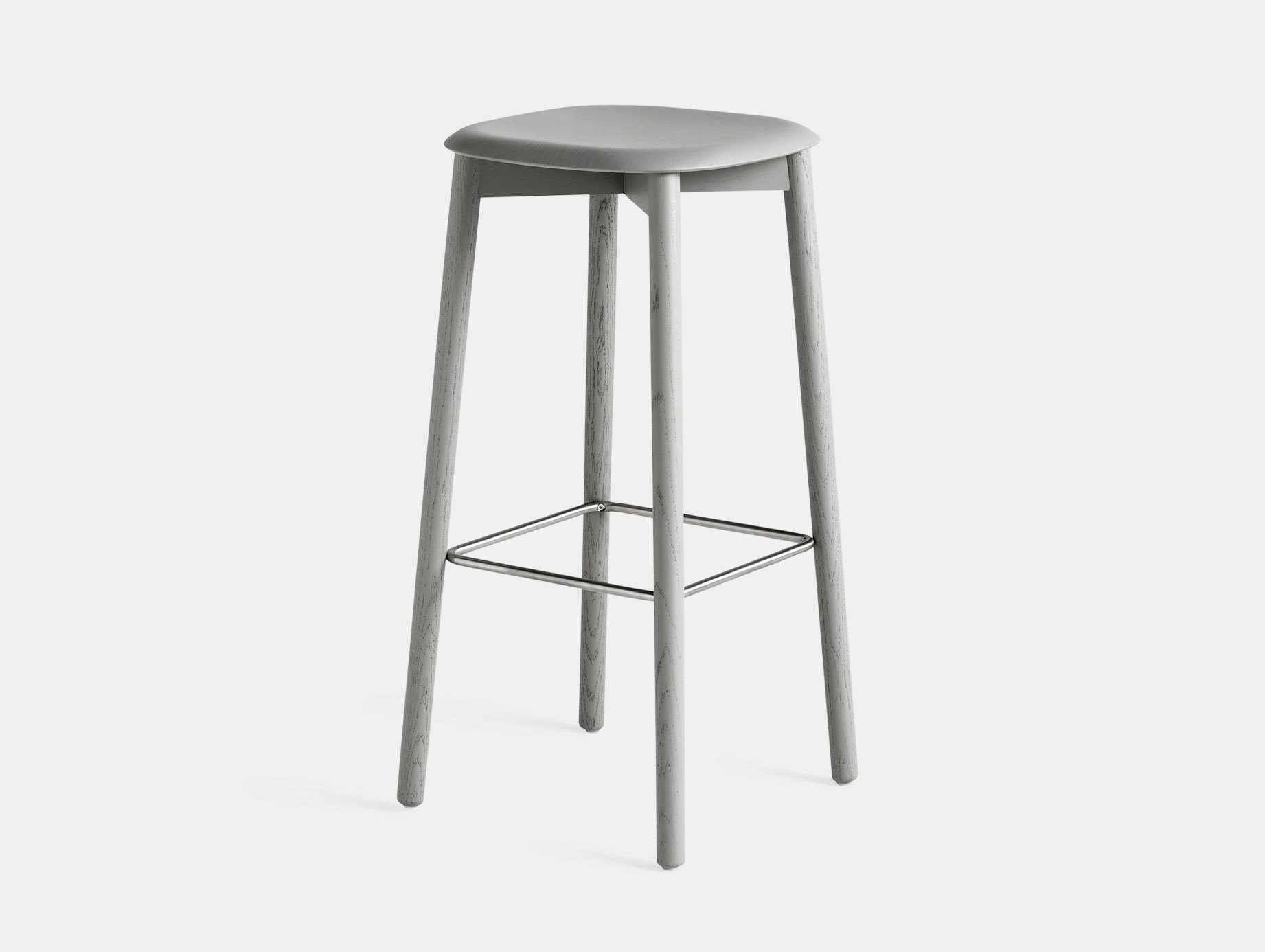 Hay Soft Edge 32 Stool Grey High Iskos Berlin