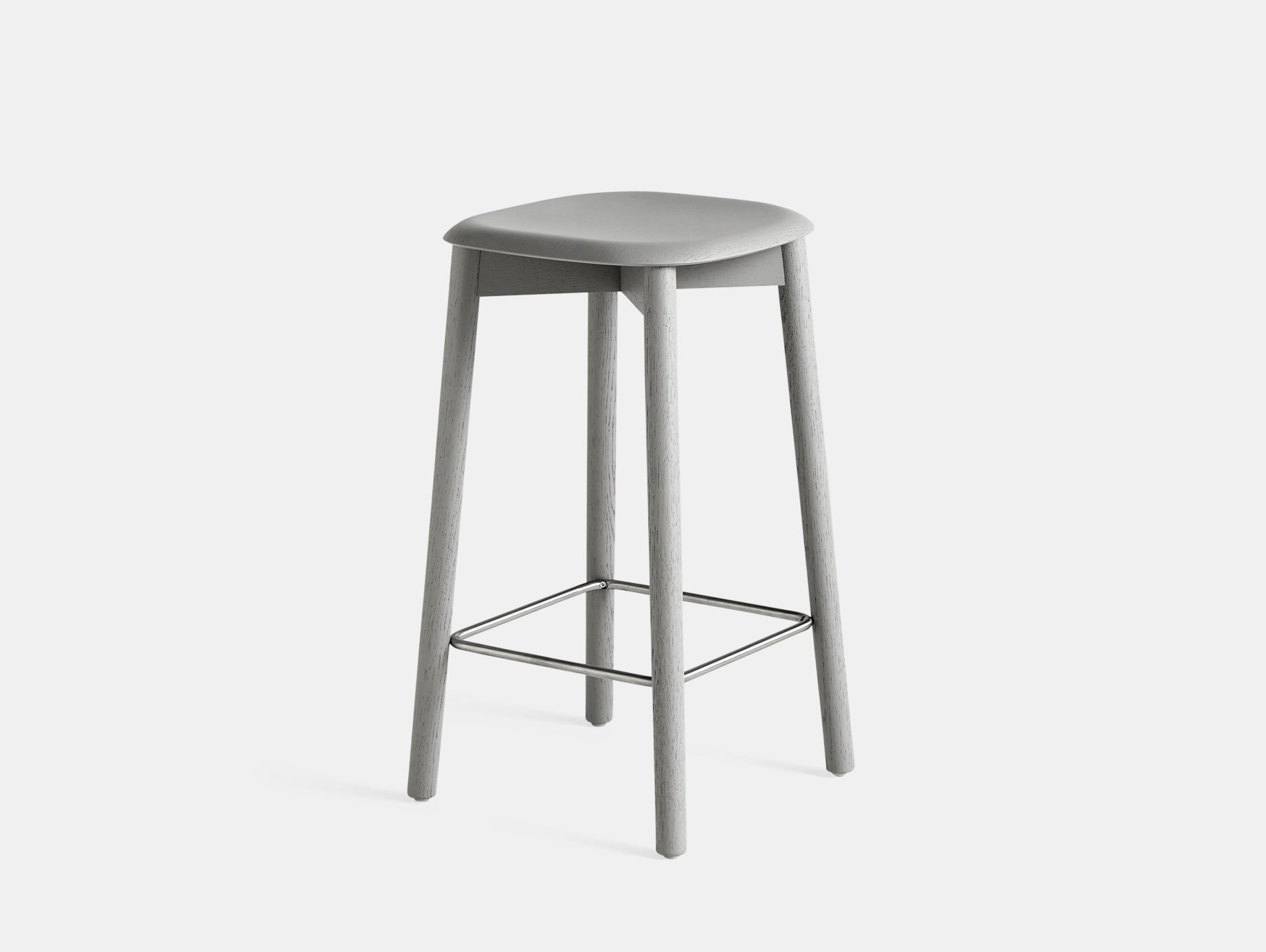 Hay Soft Edge 32 Stool Grey Low Iskos Berlin