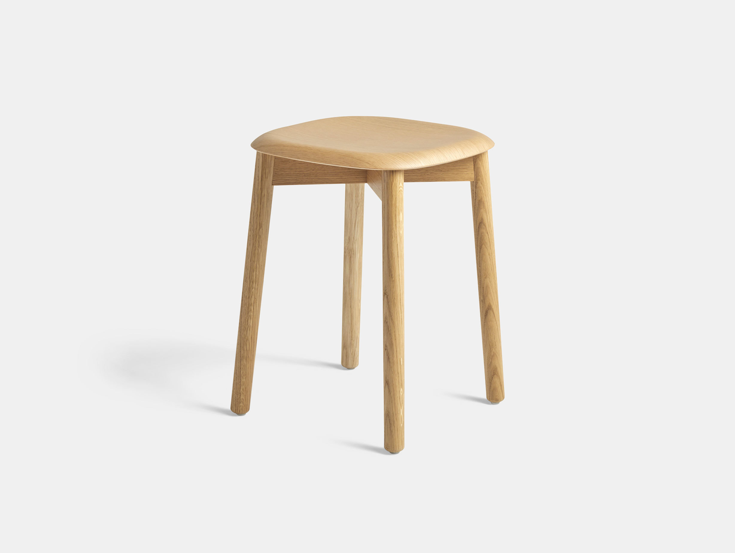 Hay Soft Edge 72 Stool Clear Lacquer