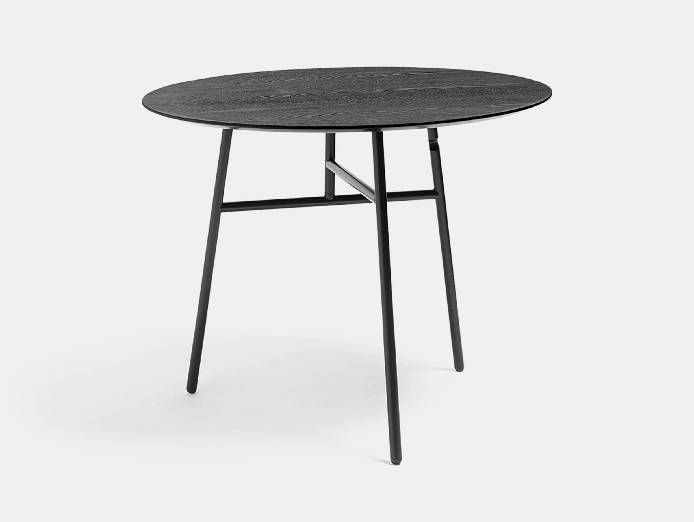 Hay Tilt Top Table Black Scholten Baijings
