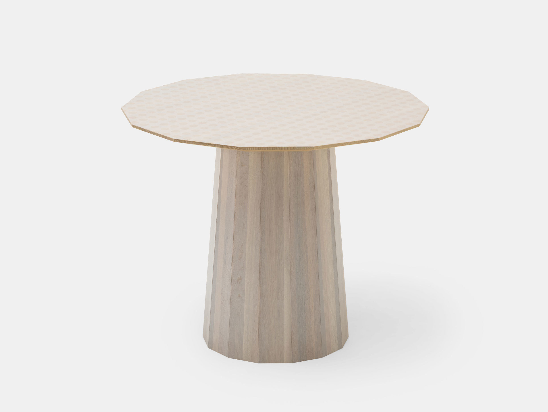 Karimoku Colour Wood Dining Table Dot 95 Scholten Baijings