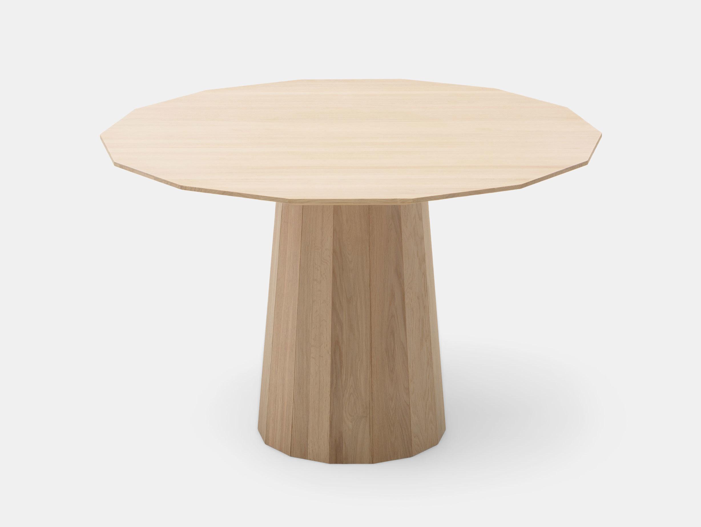 Karimoku Colour Wood Dining Table Pale Natural 120 Scholten Baijings