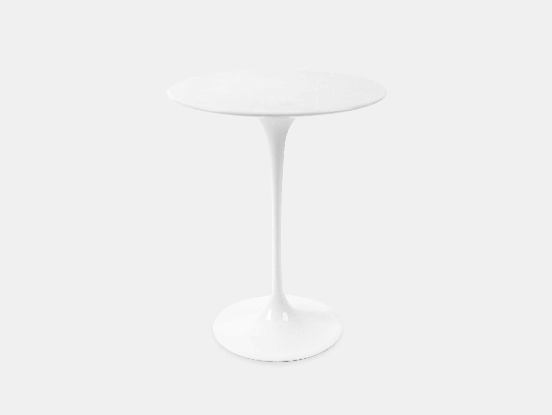 Knoll Eero Saarinen Side Table White