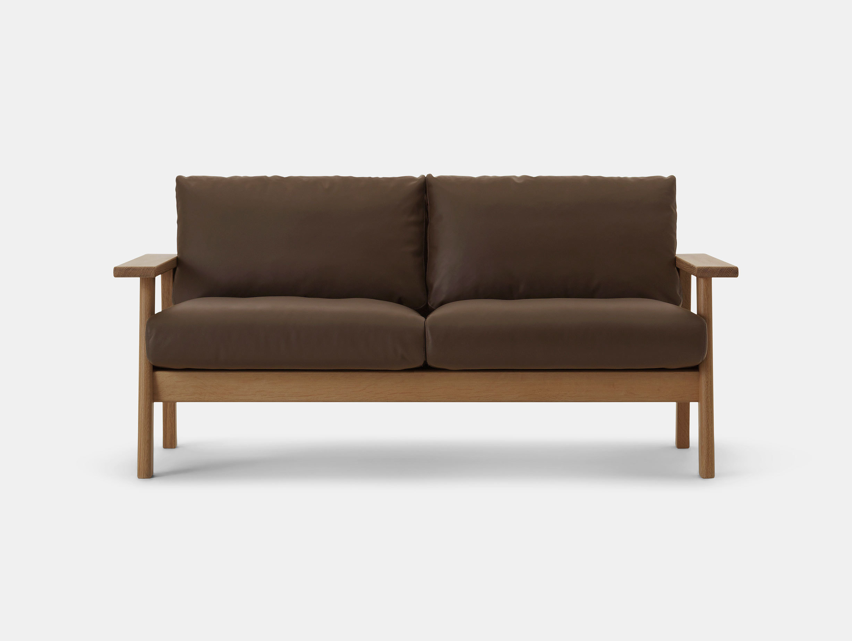 Maruni Bruno 2 Seater Sofa Oak Jasper Morrison