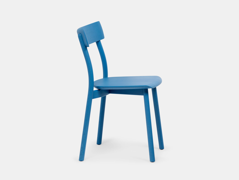 Mattiazzi Chiaro Chair Blue Leon Ransmeier
