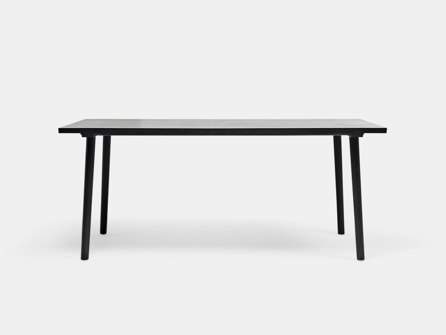 Mattiazzi Facile Table Black Lambl Homburger Meyer