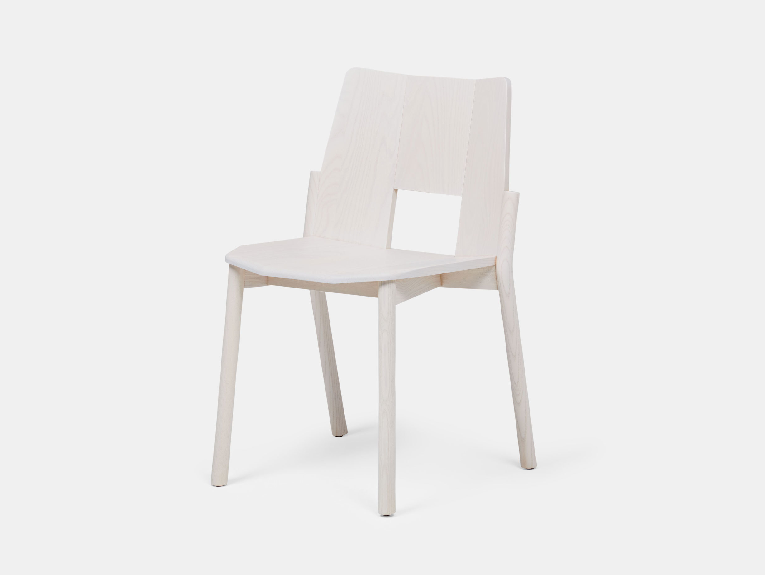 Mattiazzi Tronco Chair Ash White Industrial Facility