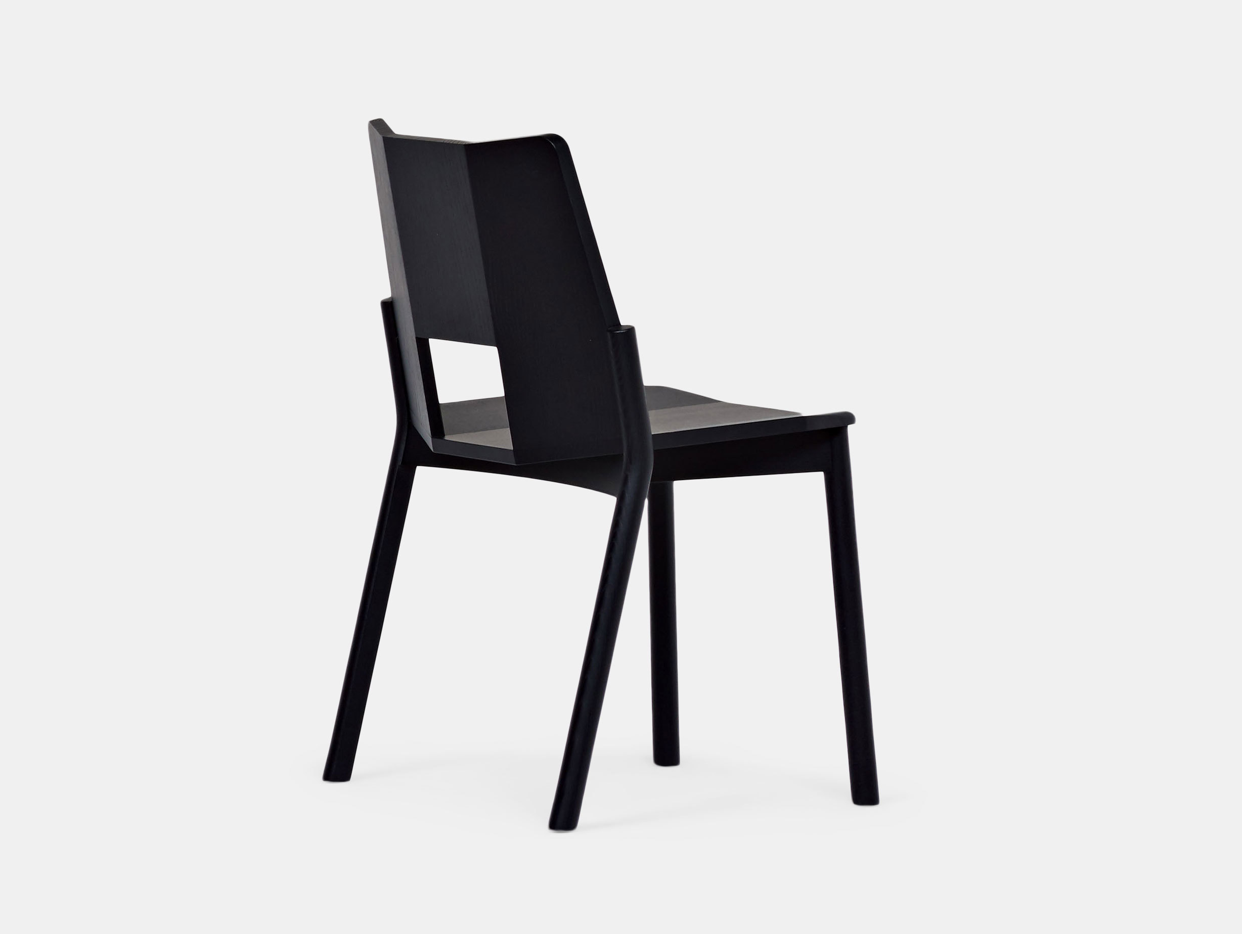 Mattiazzi Tronco Chair Sam Hecht Black
