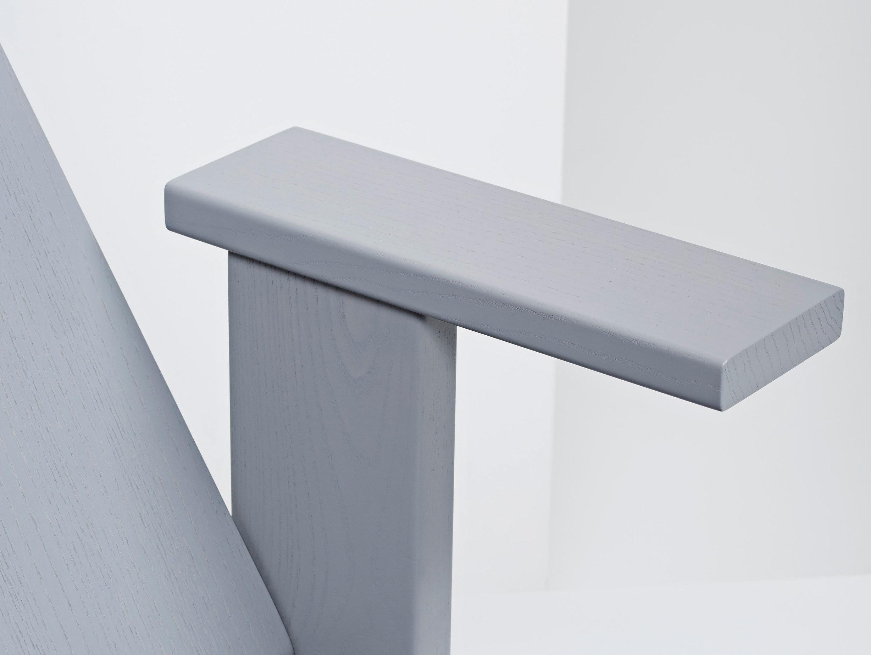 Mattiazzi Quindici Lounge Chair Grey Arm Detail Ronan Erwan Bouroullec