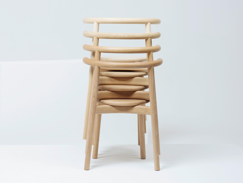 Mattiazzi Solo Chair Oak Stack Studio Nitzan Cohen
