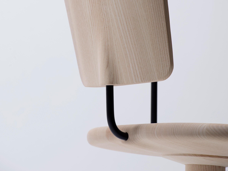 Mattiazzi Uncino Chair Ash Back Detail Ronan Erwan Bouroullec