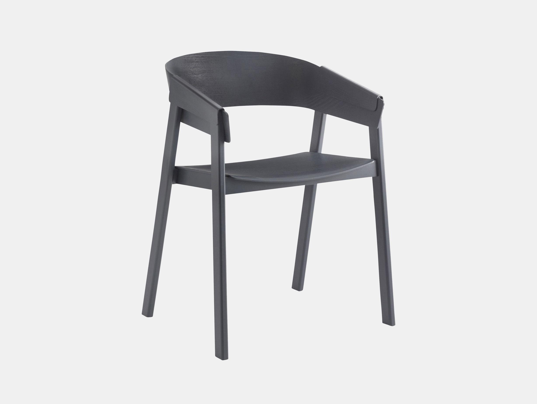 Muuto Cover Chair Anthracite Thomas Bentzen