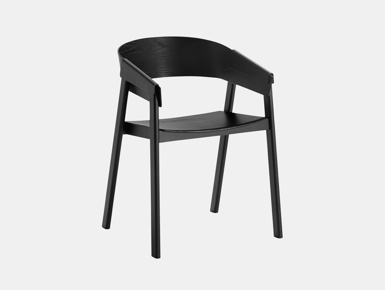 Muuto Cover Chair Black Thomas Bentzen