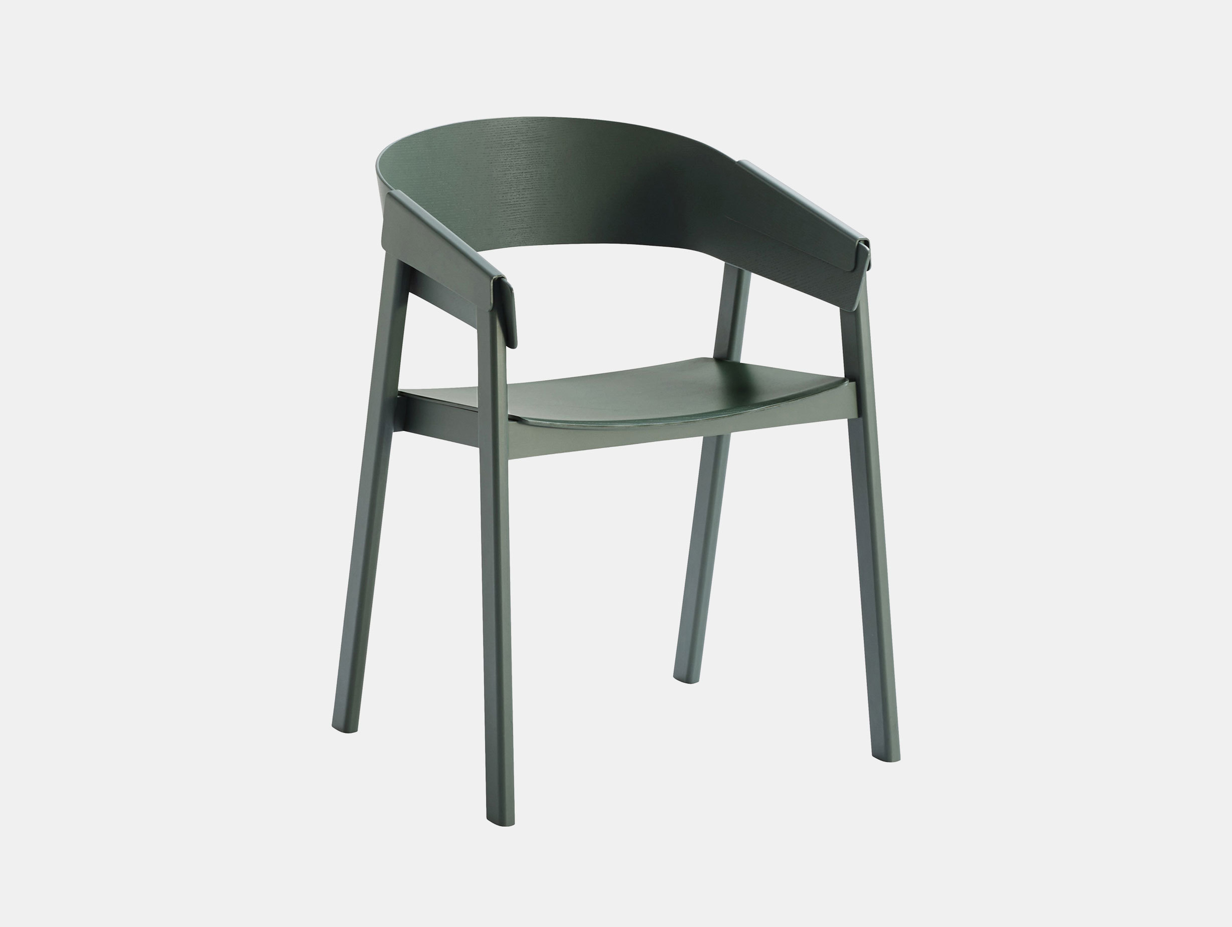 Muuto Cover Chair Green Thomas Bentzen