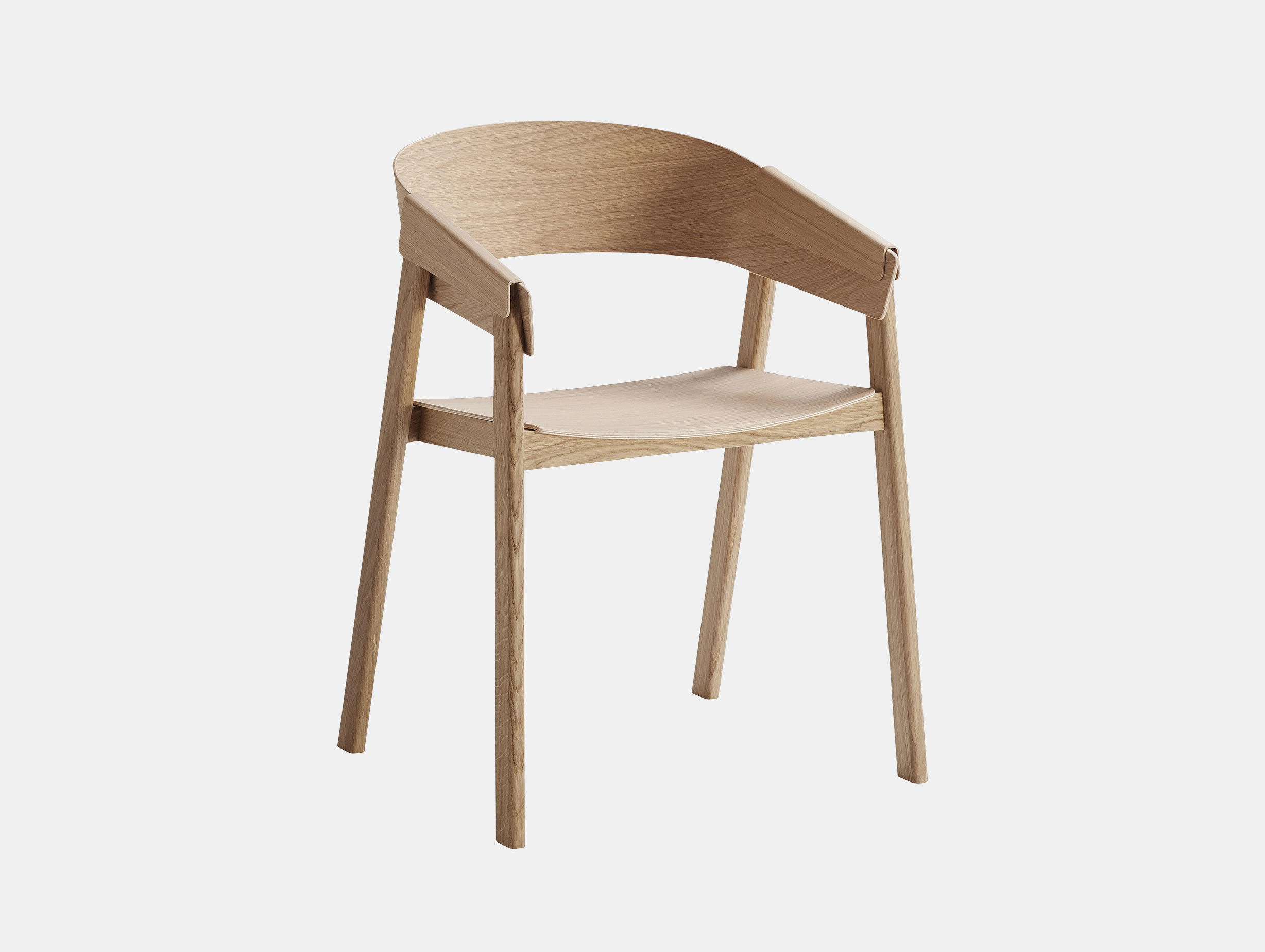 Muuto Cover Chair Oak Thomas Bentzen