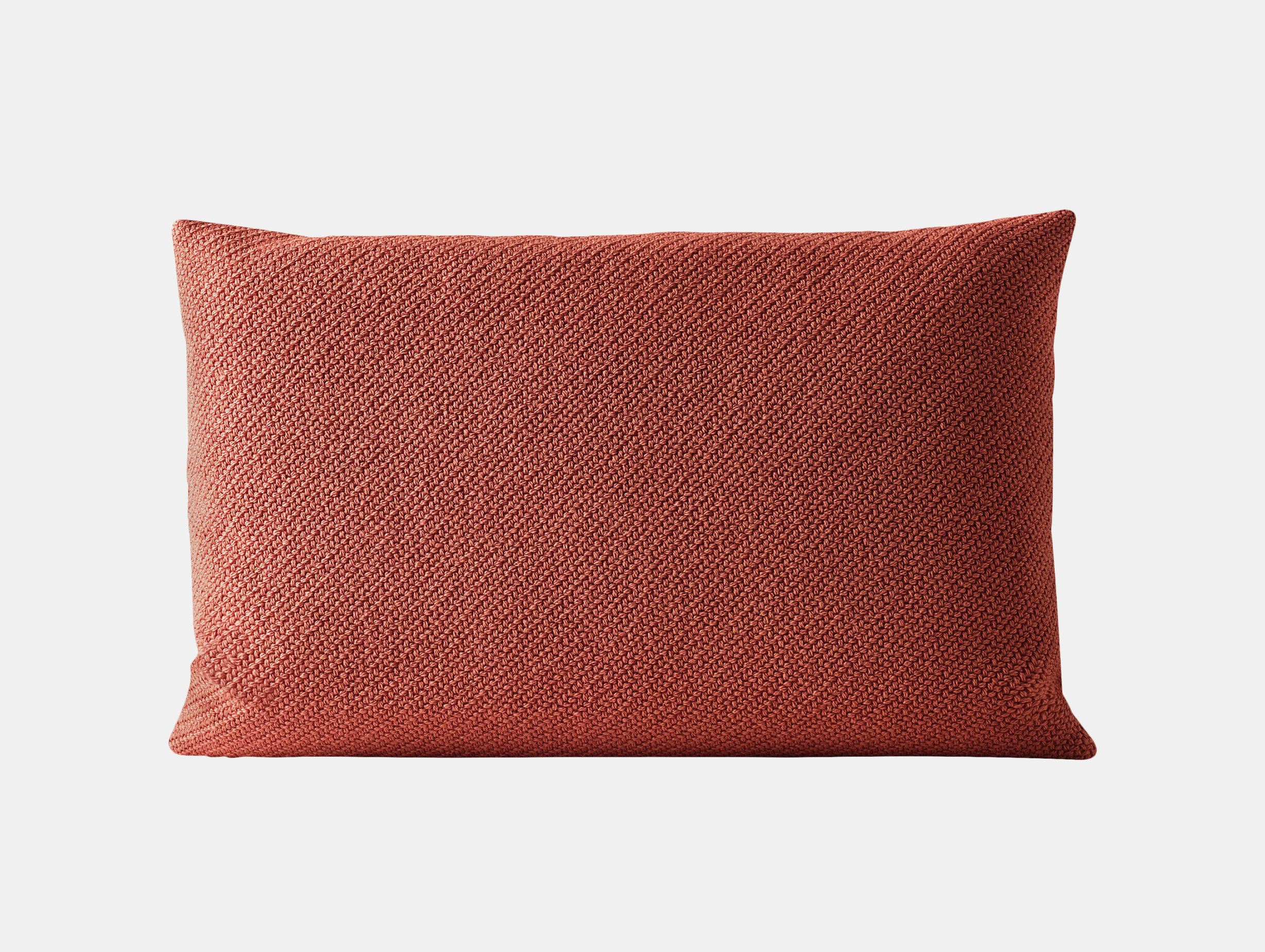 Muuto Mingle Cushion 40X60 Red Thomas Bentzen