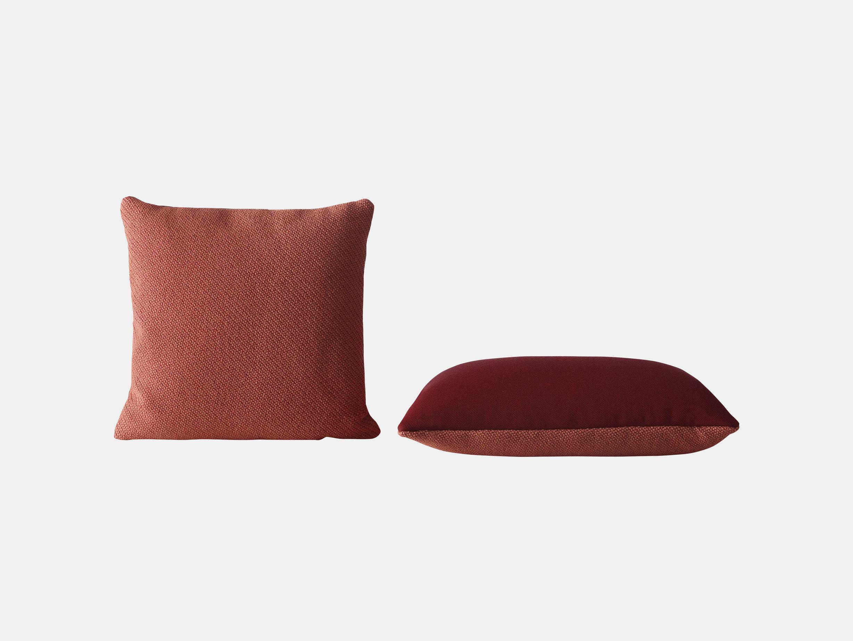 Muuto Mingle Cushion Red Thomas Bentzen