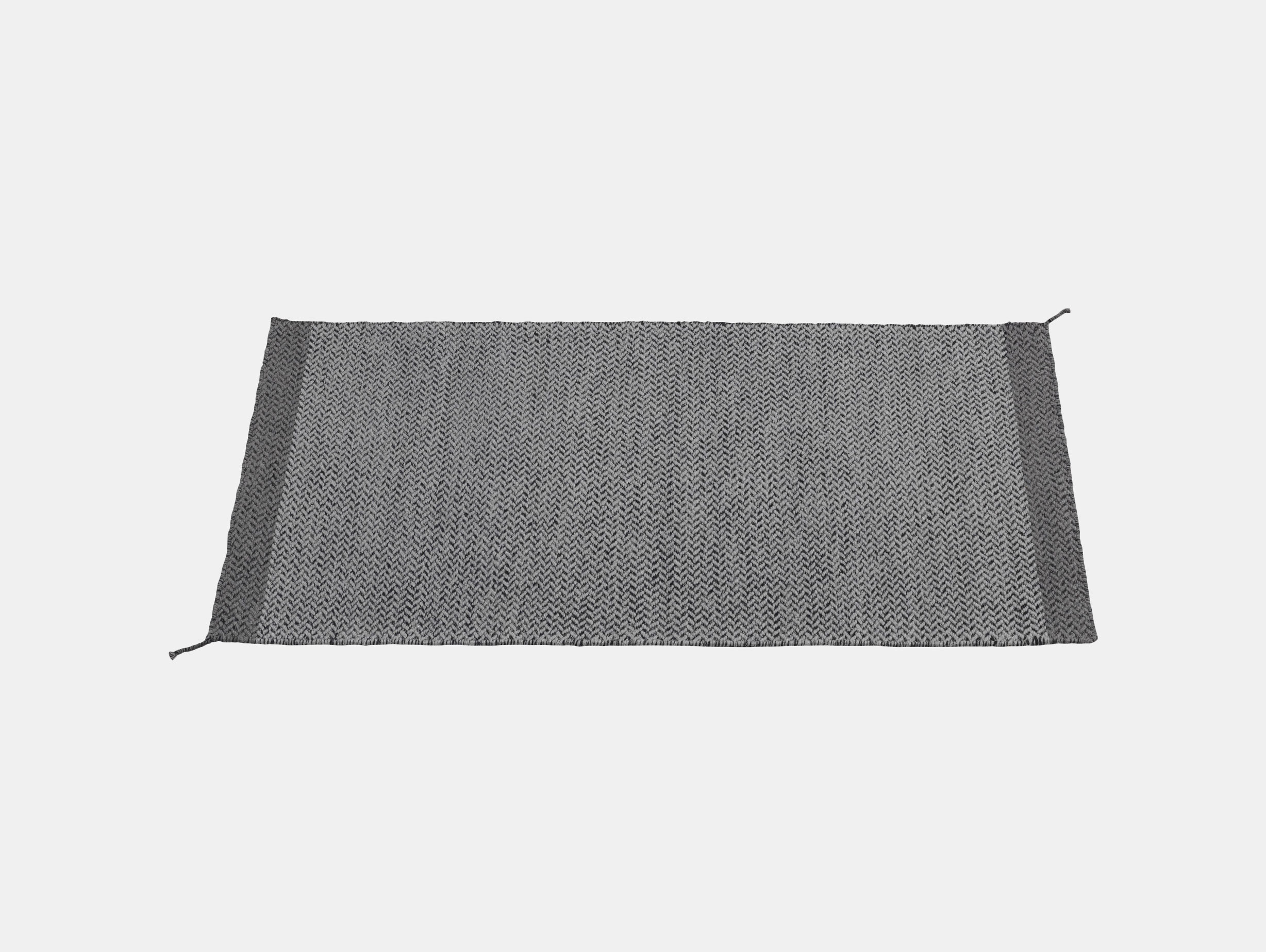 Ply Rug Dark Grey 85X140 Med Res