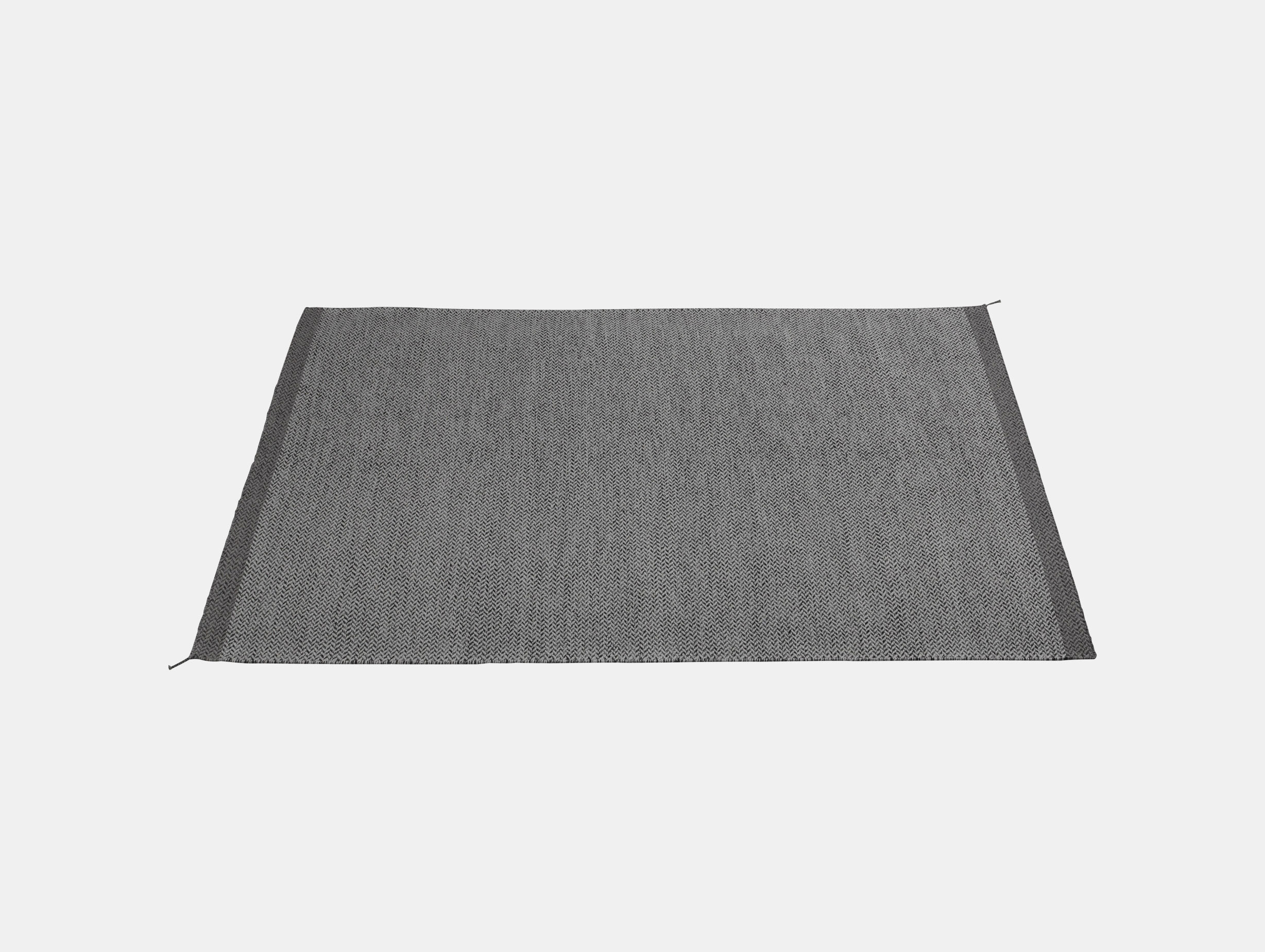 Ply Rug Dark Grey 170X240 Med Res