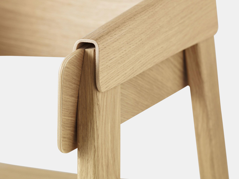 Muuto Cover Chair Oak Detail 2