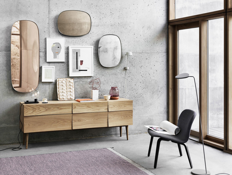 Muuto Framed Mirror Group Anderssen Voll