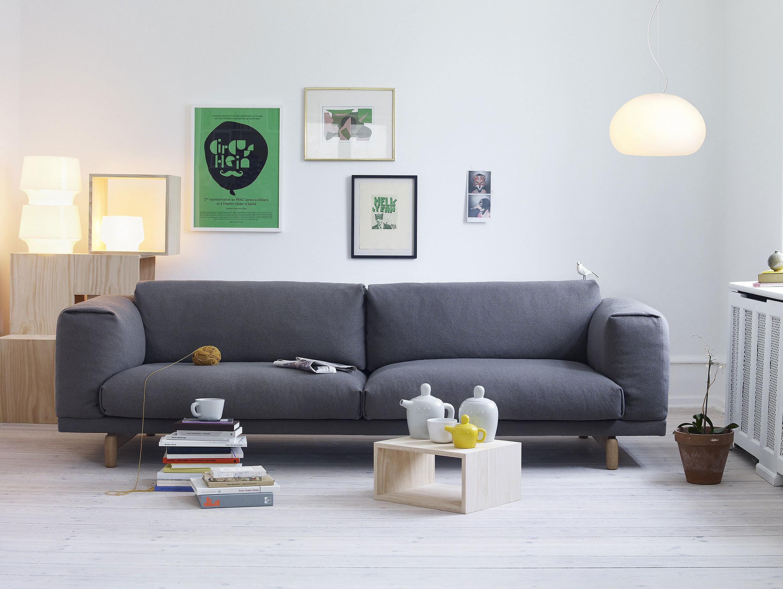 Muuto Rest Sofa Fluid Bulky Cosy