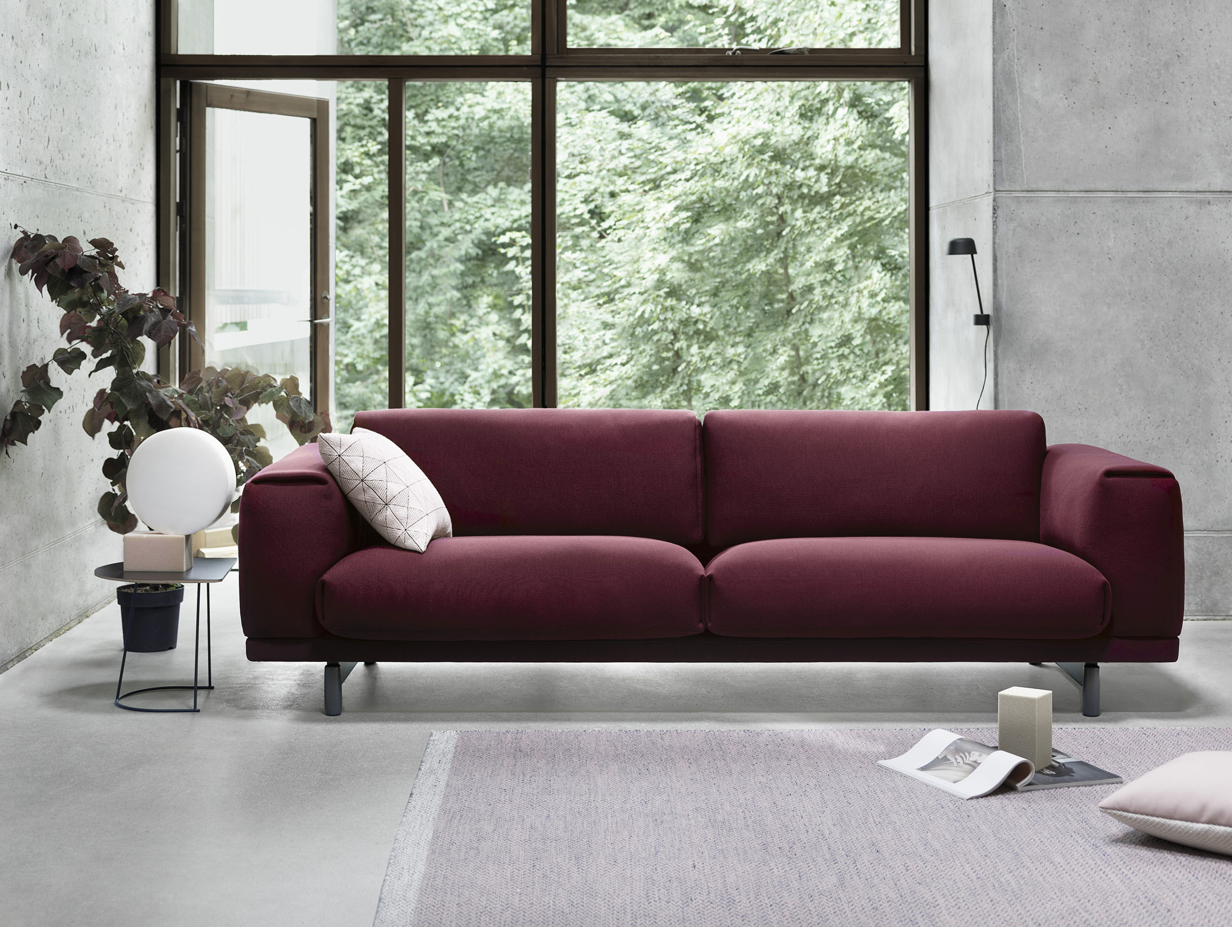 Muuto Rest Sofa Pitch Charm Lean Tile Ply Med Res