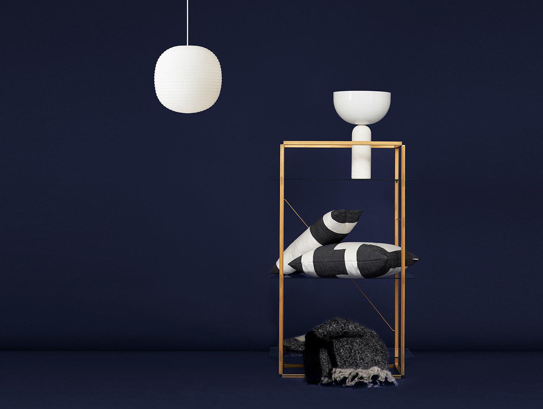 New Works Kizu Table Lamp White Lars Tornoe