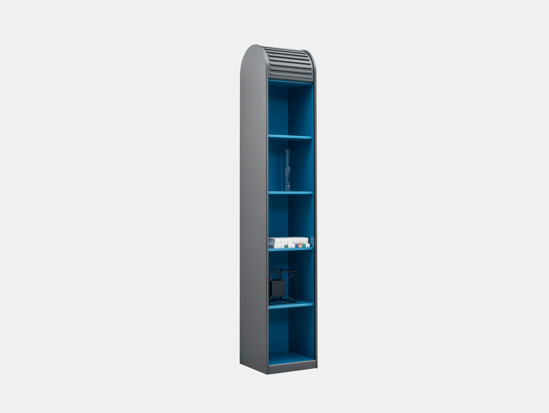 Pastoe A Dammer Roll Top Cabinet Basalt Azure Aldo Van Den Nieuwelaar