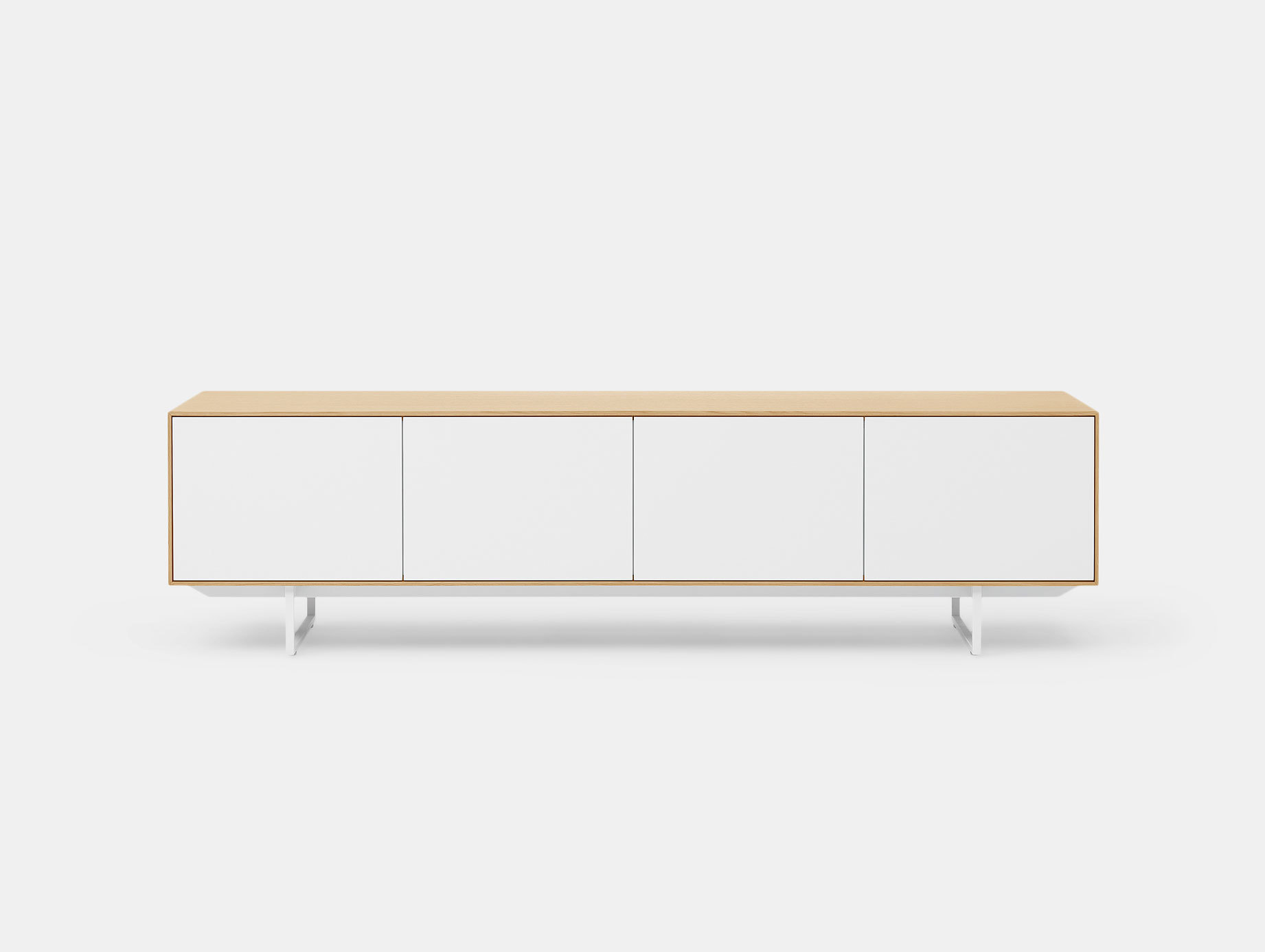 Pastoe Noon Sideboard Oak White Doors
