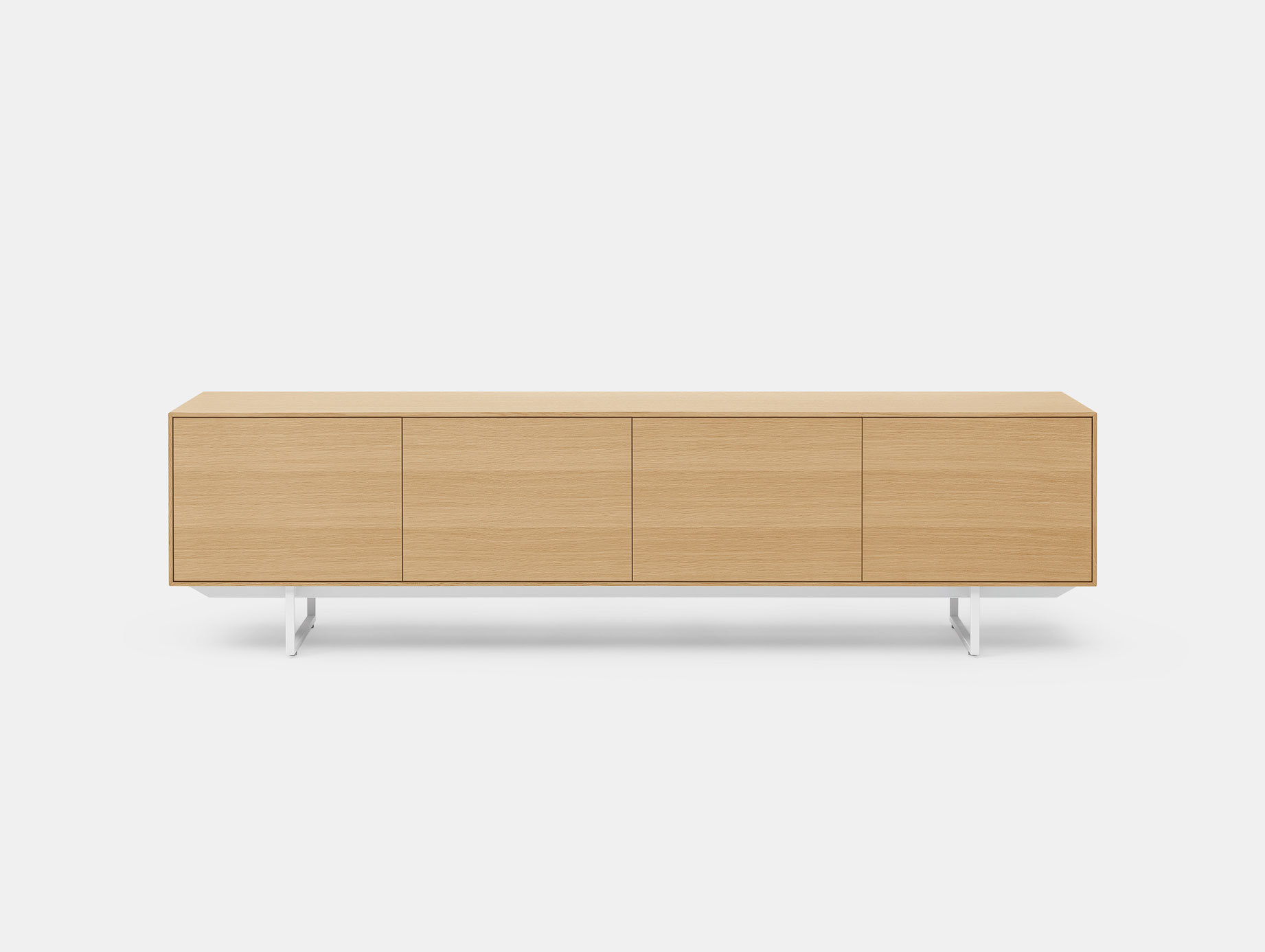 Pastoe Noon Sideboard Oak White Frame