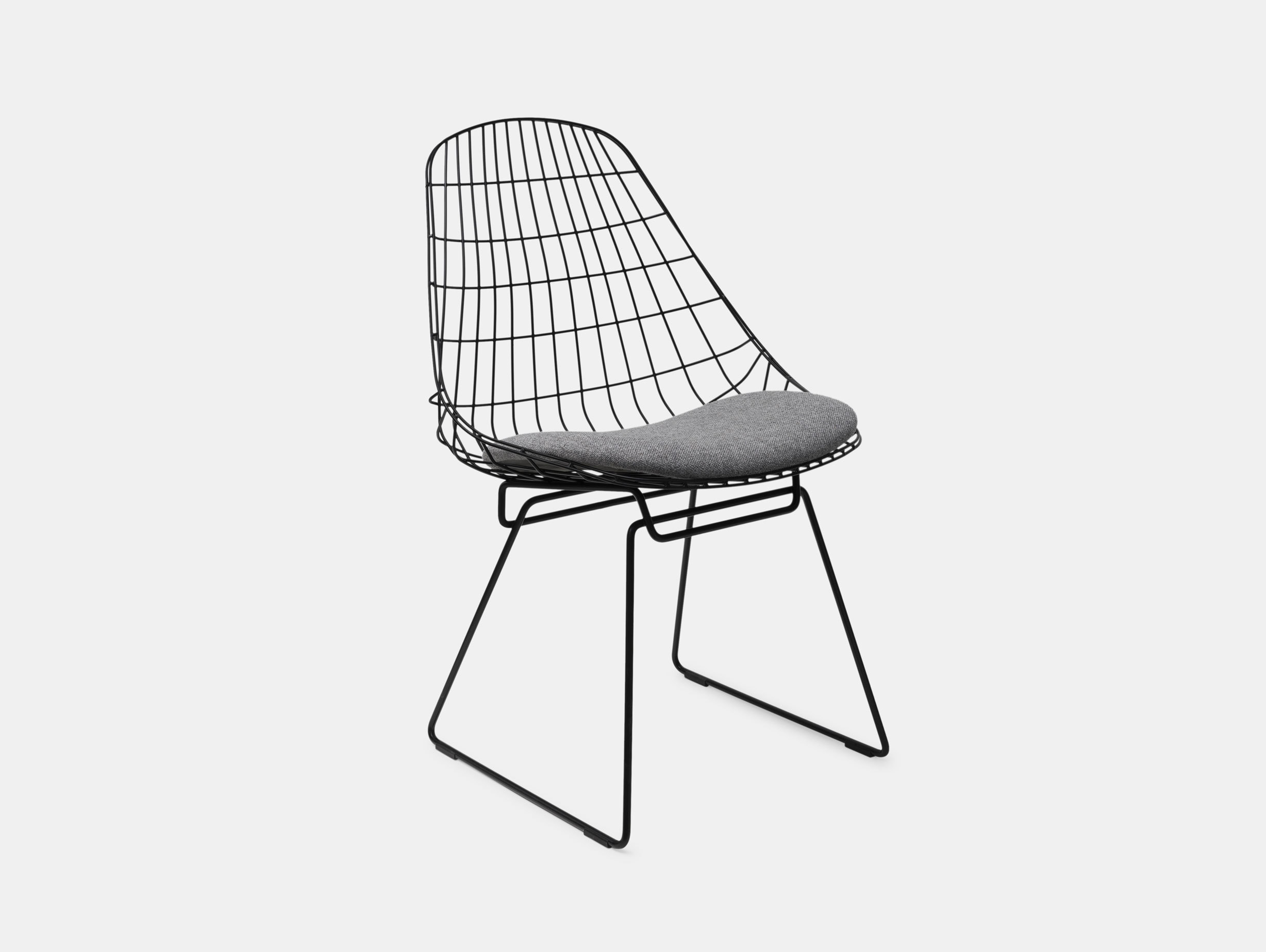 Pastoe Sm05 Chair Black Grey Cushion Cees Braakman