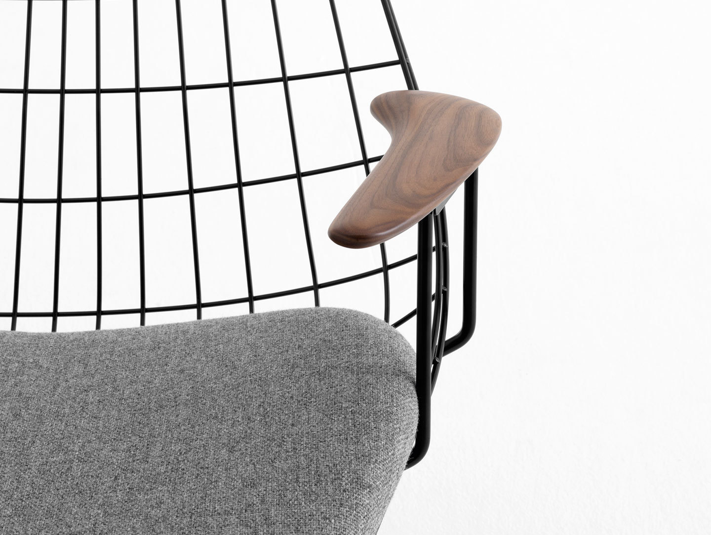 Pastoe Fm06 Wire Lounge Chair Detail Cees Braakman