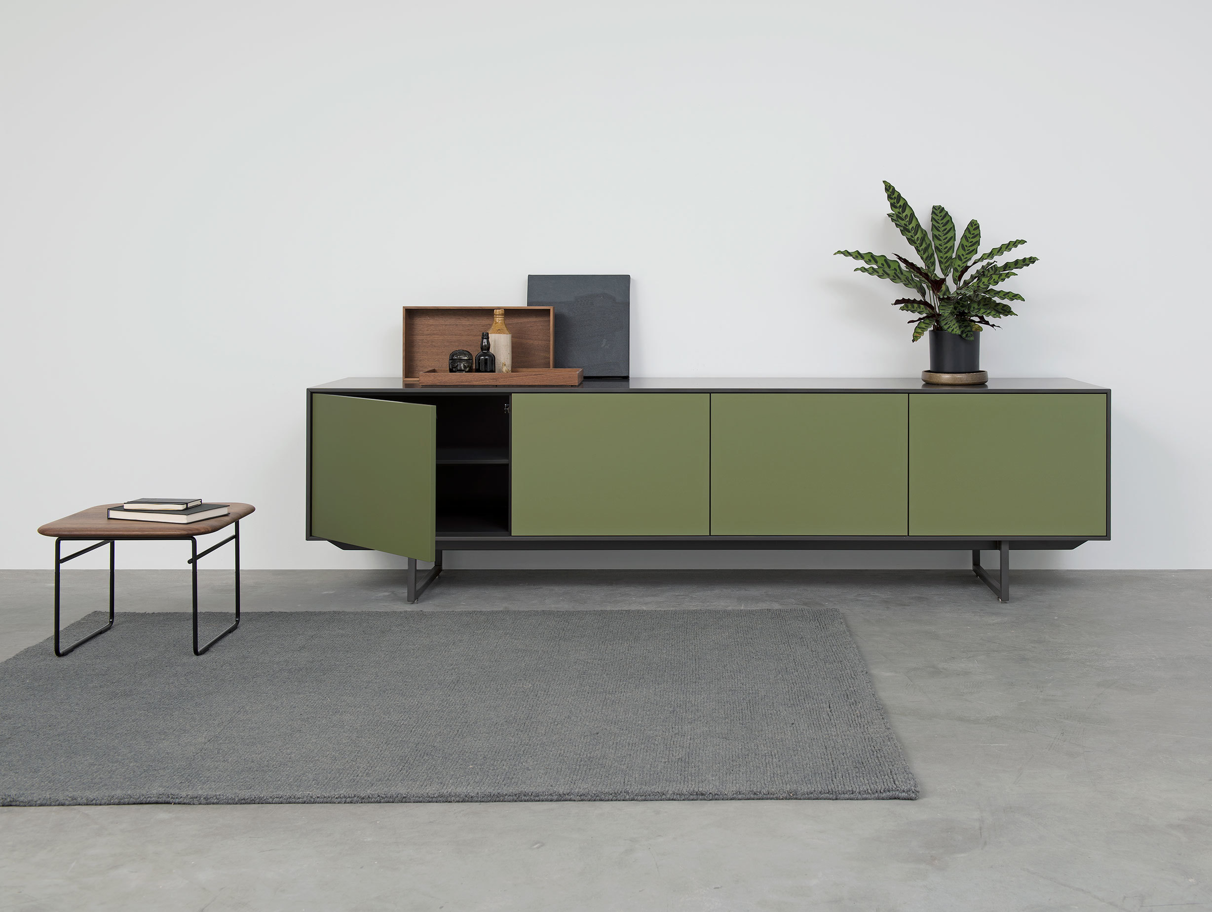 Pastoe Noon Sideboard Green Grey