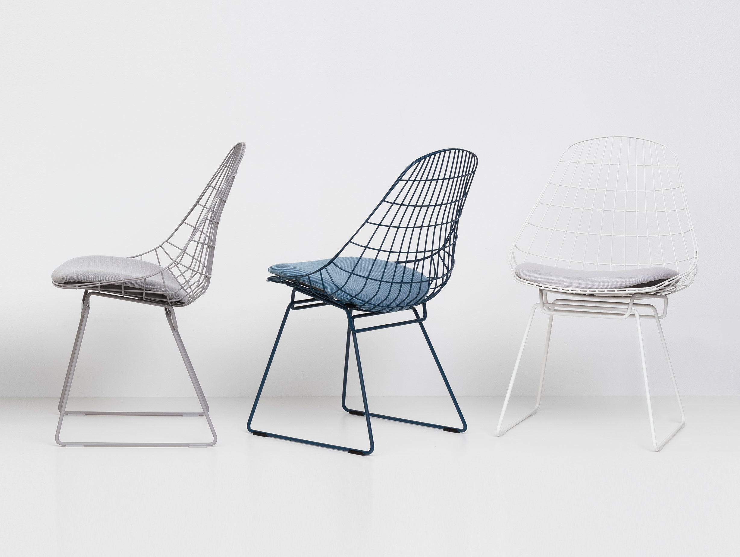 Pastoe Sm05 Chair Grey Blue White Cees Braakman