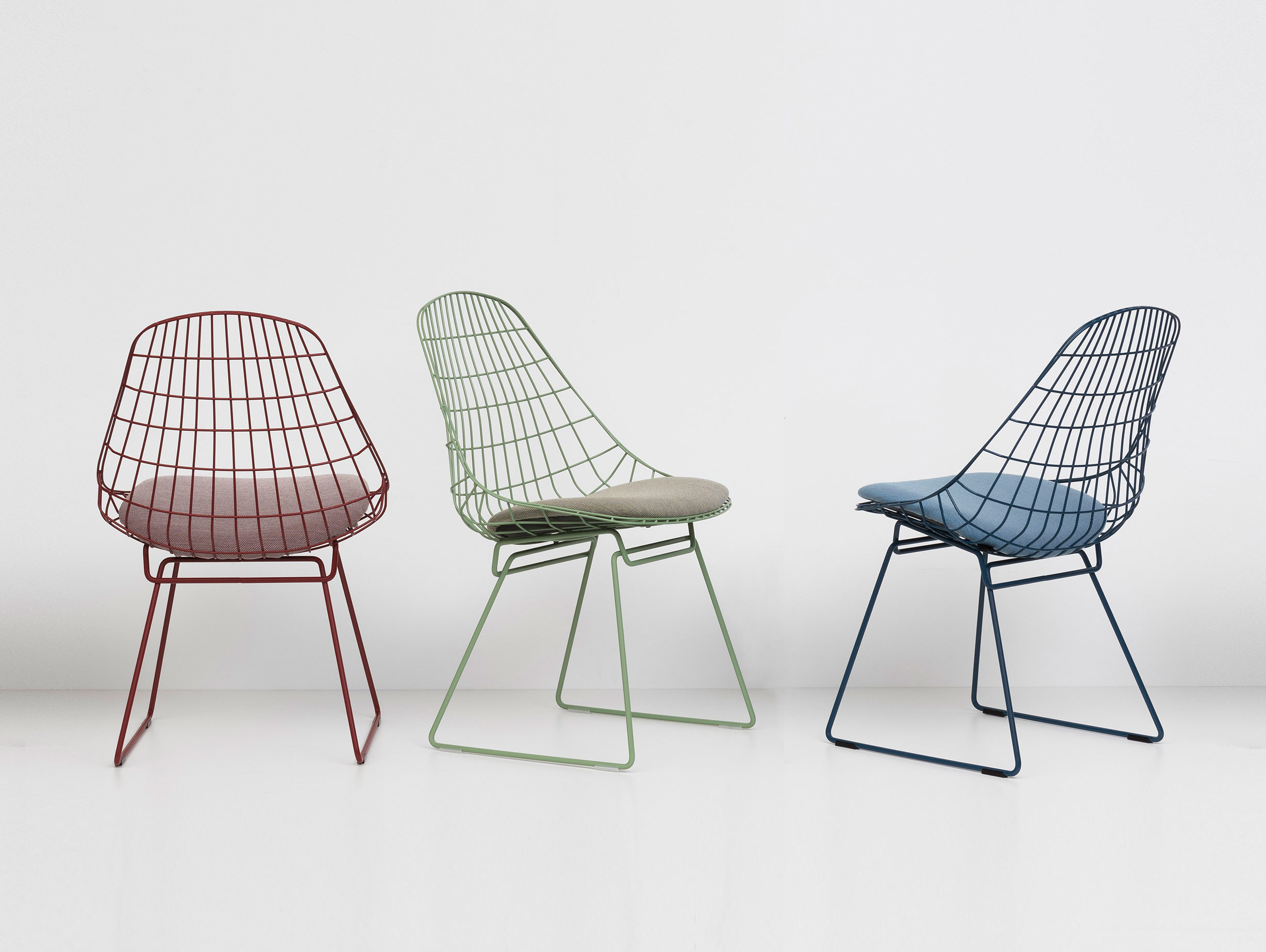 Pastoe Sm05 Chair Red Green Blue Cees Braakman