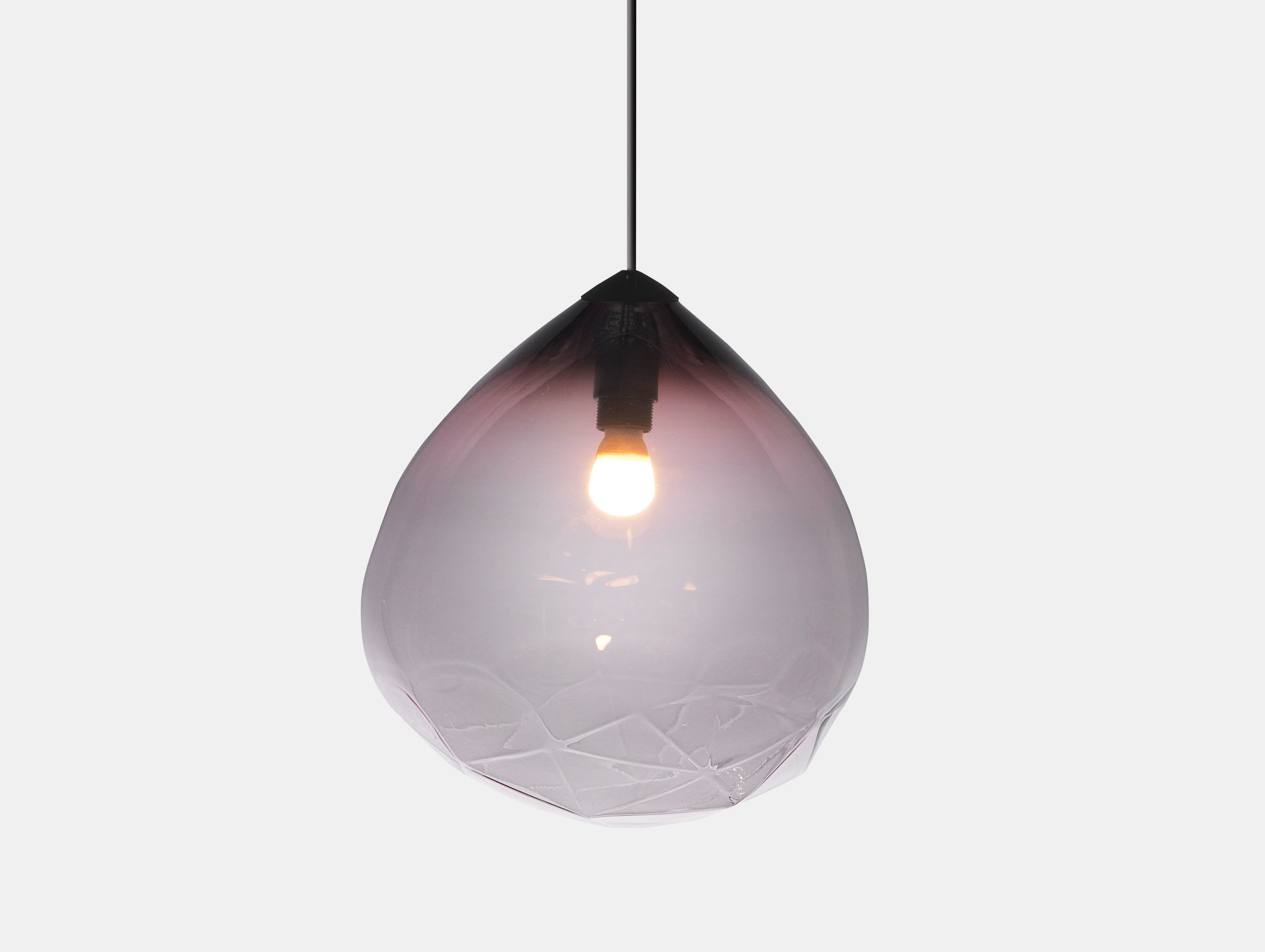 Resident Parison Pendant Light Black Cheshire Architects