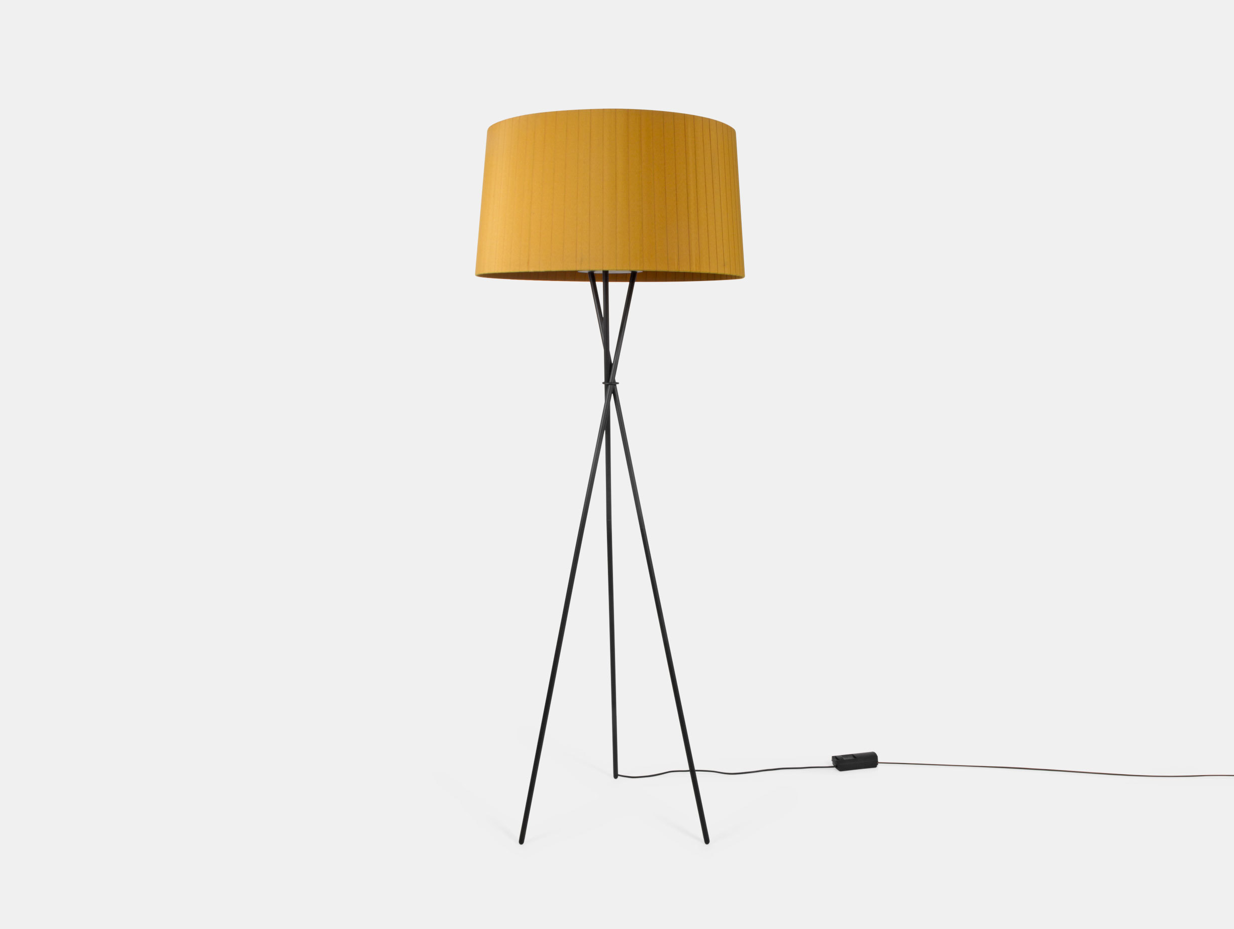Santa And Cole Tripode G5 Floor Lamp Mustard