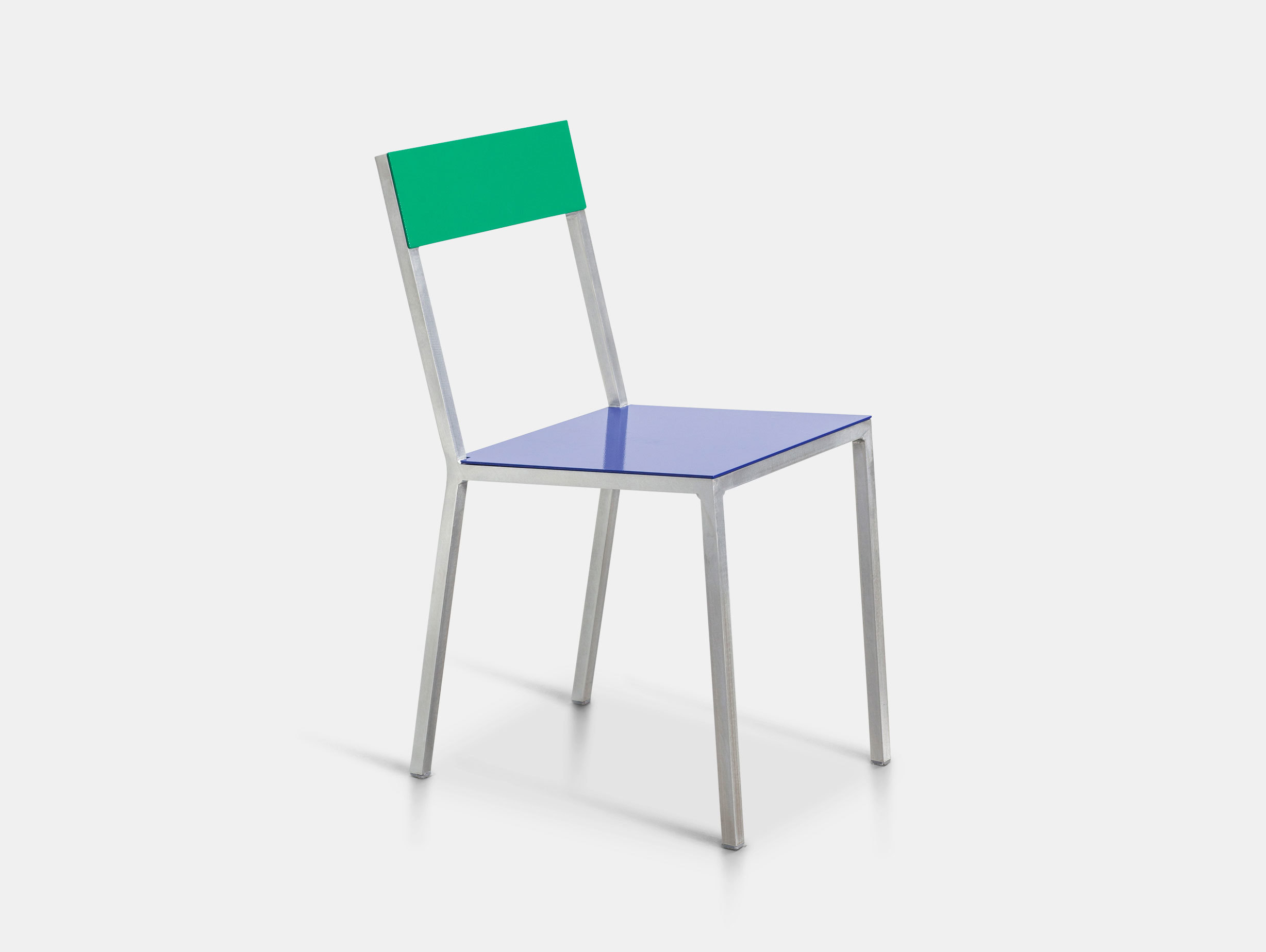 Valerie Objects Alu Chair Seatblue Backgreen Muller Van Severen
