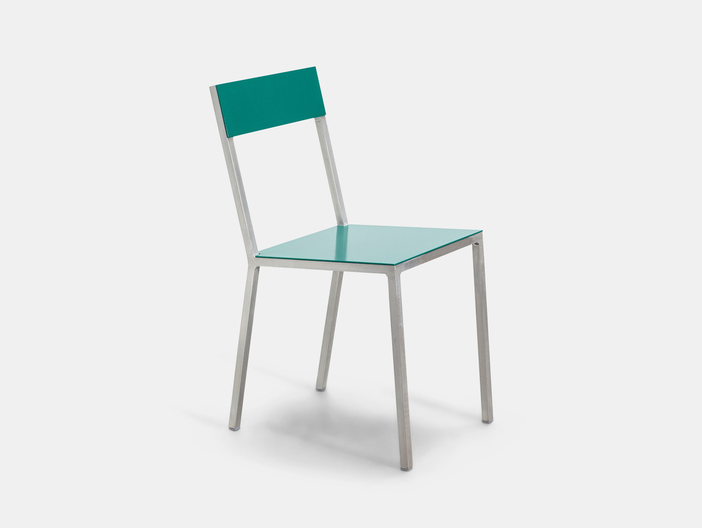 Valerie Objects Alu Chair Seathpgreen Backhpgreen Muller Van Severen