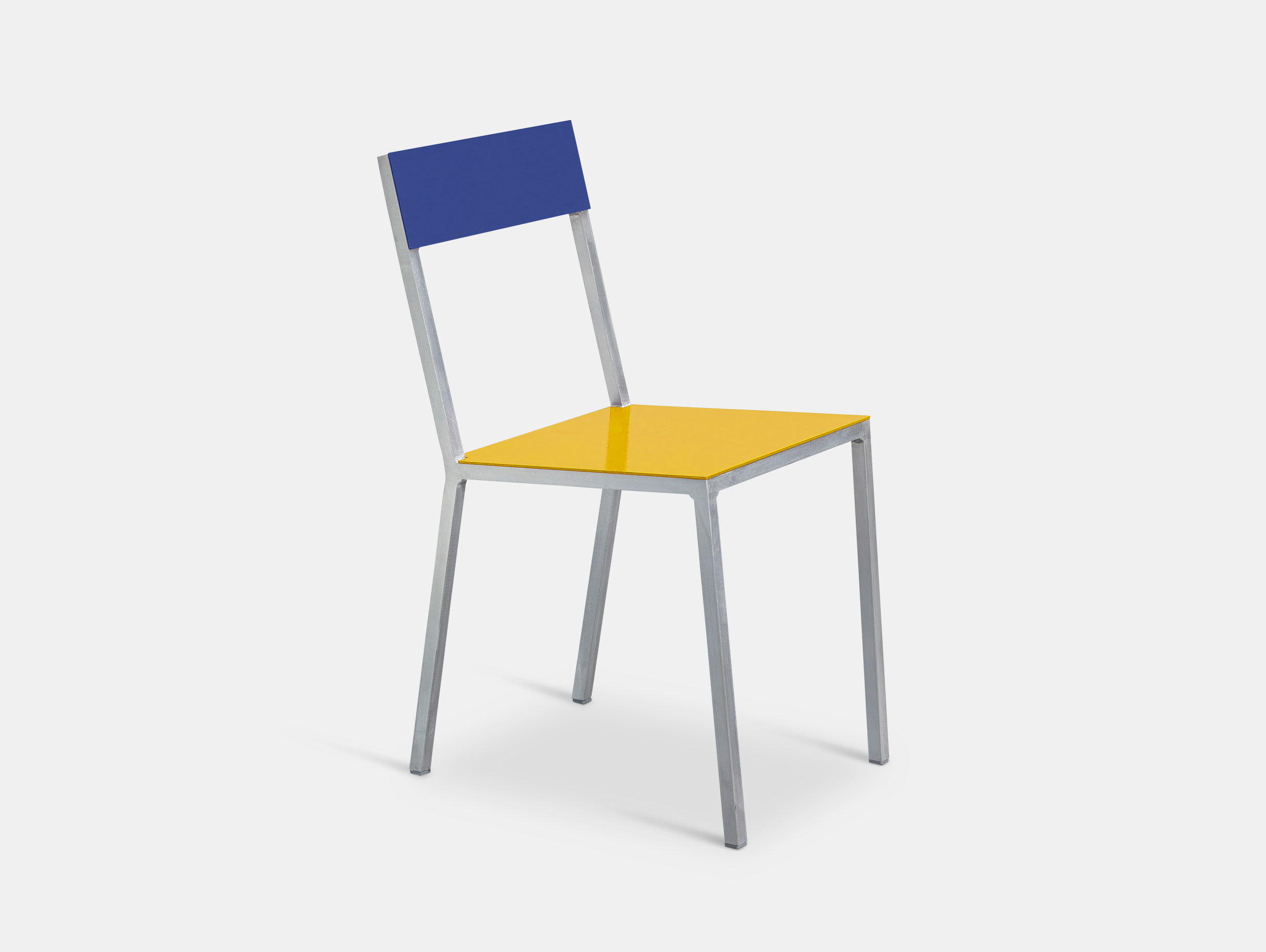 Valerie Objects Alu Chair Seatyellow Backbleu Muller Van Severen