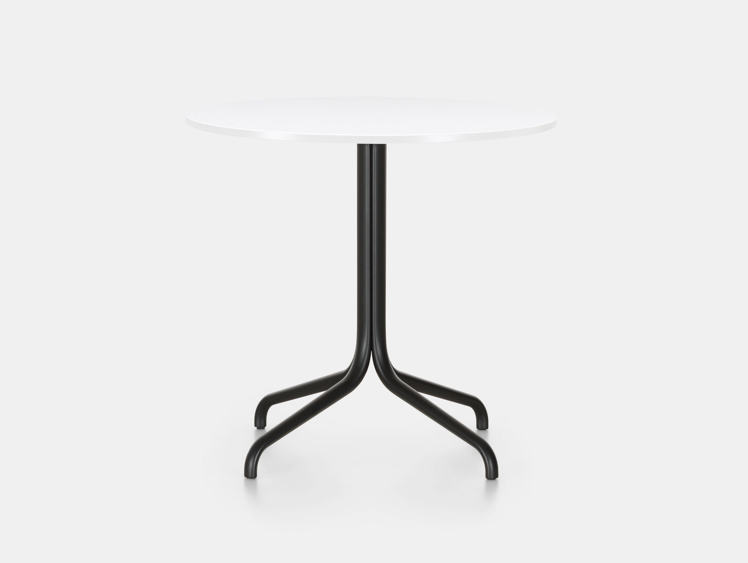 Vitra Belleville Outdoor Table Round White Ronan Erwan Bouroullec