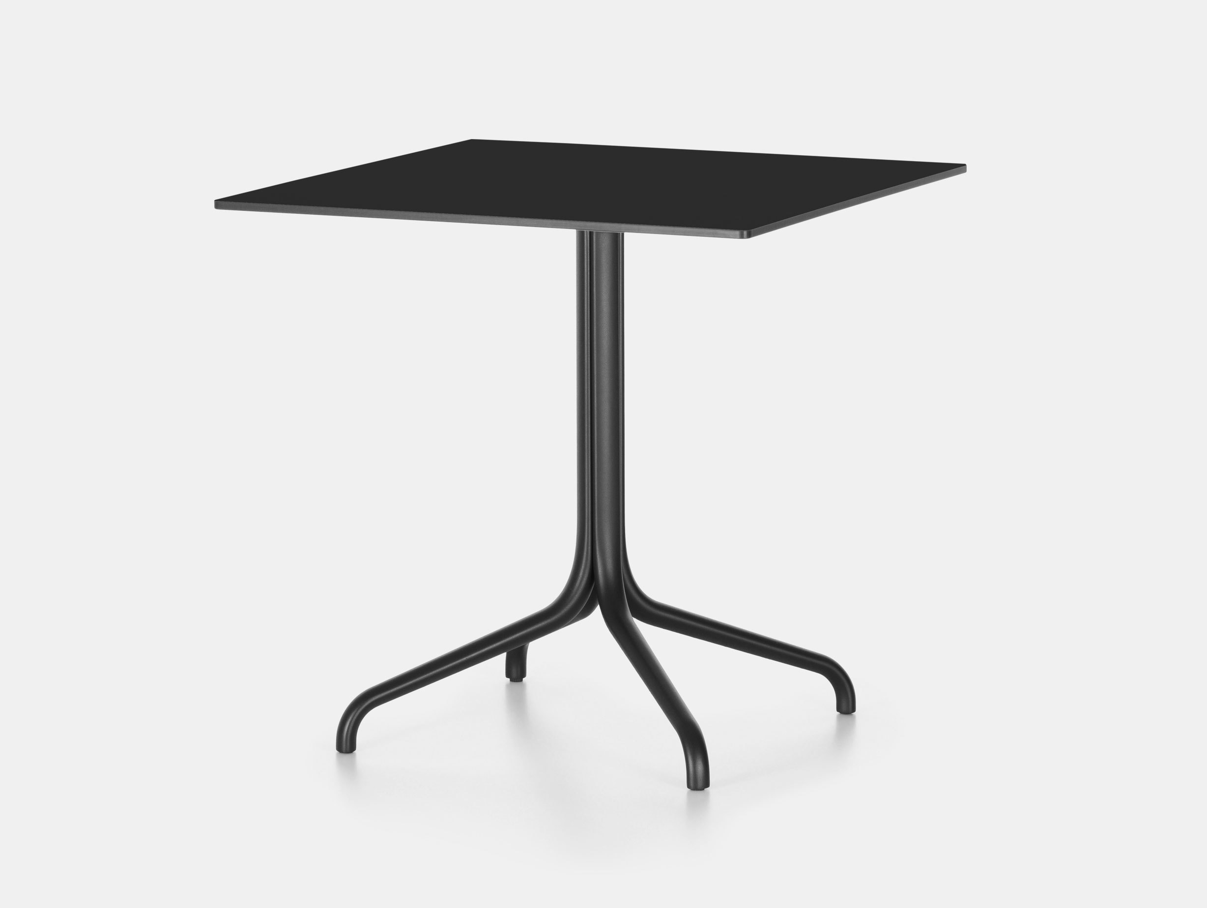 Vitra Belleville Outdoor Table Square Black Ronan Erwan Bouroullec