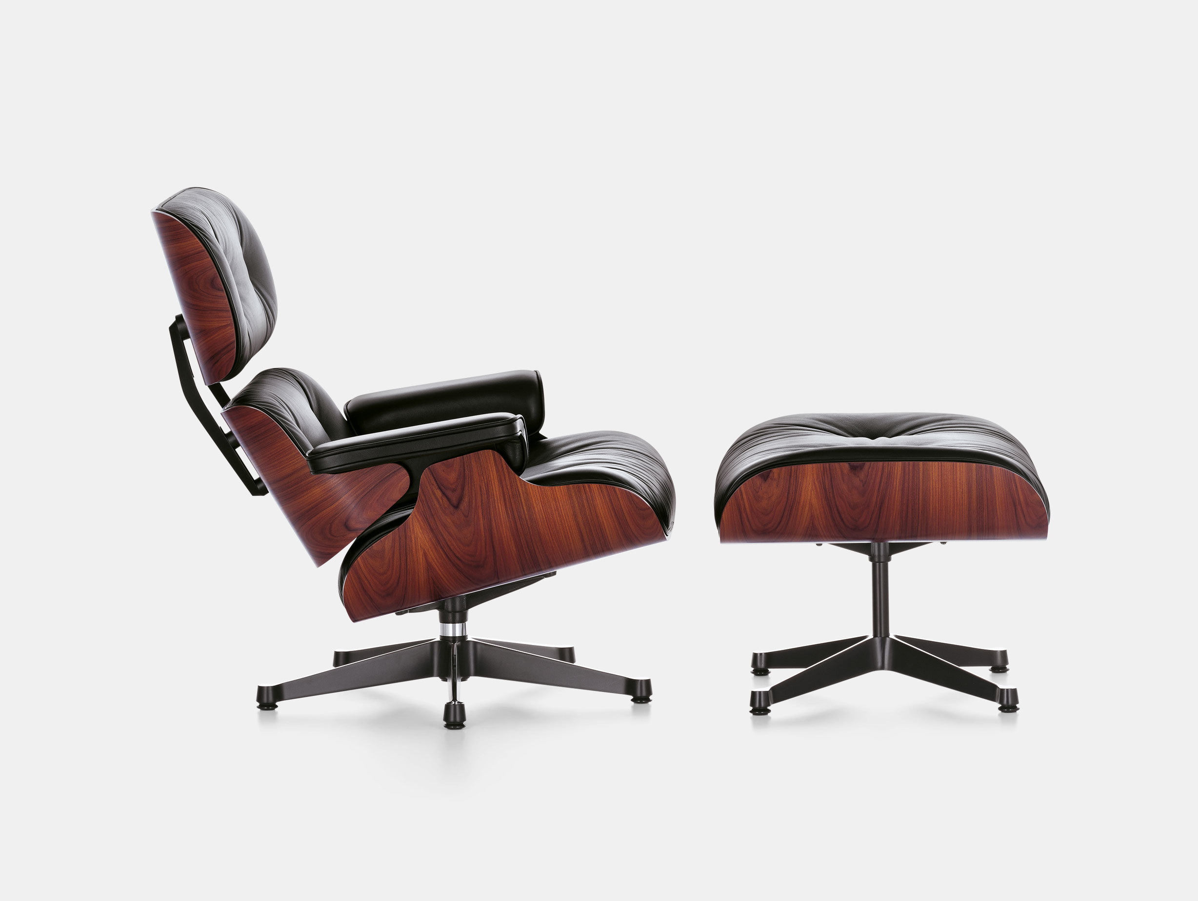 Eames Lounge Chair & Ottoman image 1