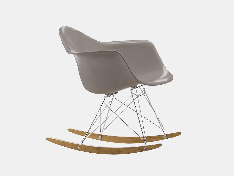 Vitra Eames Rar Rocking Chair Mauve Grey Charles And Ray Eames