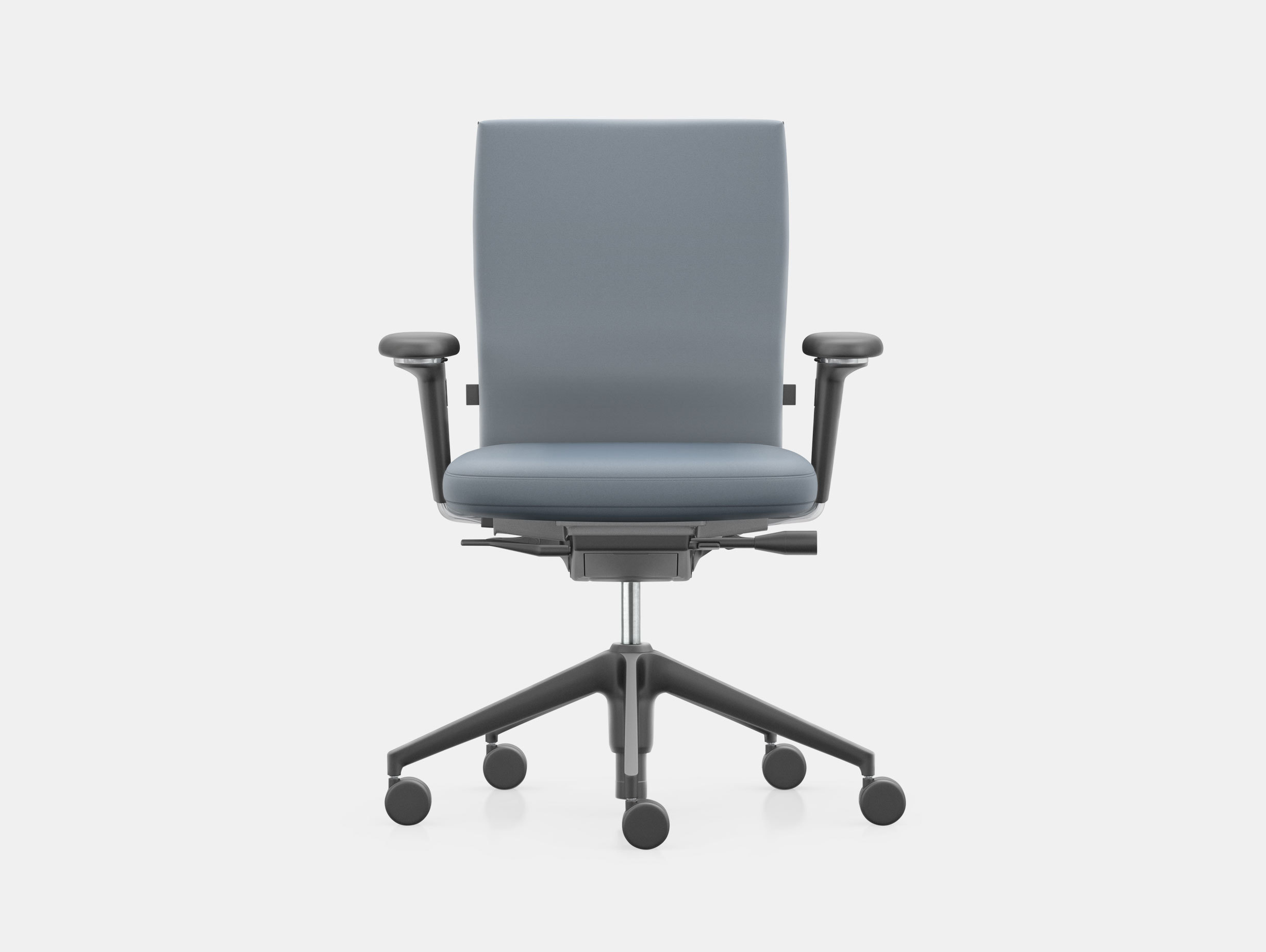 Vitra Id Soft Office Chair Blue Antonio Citterio