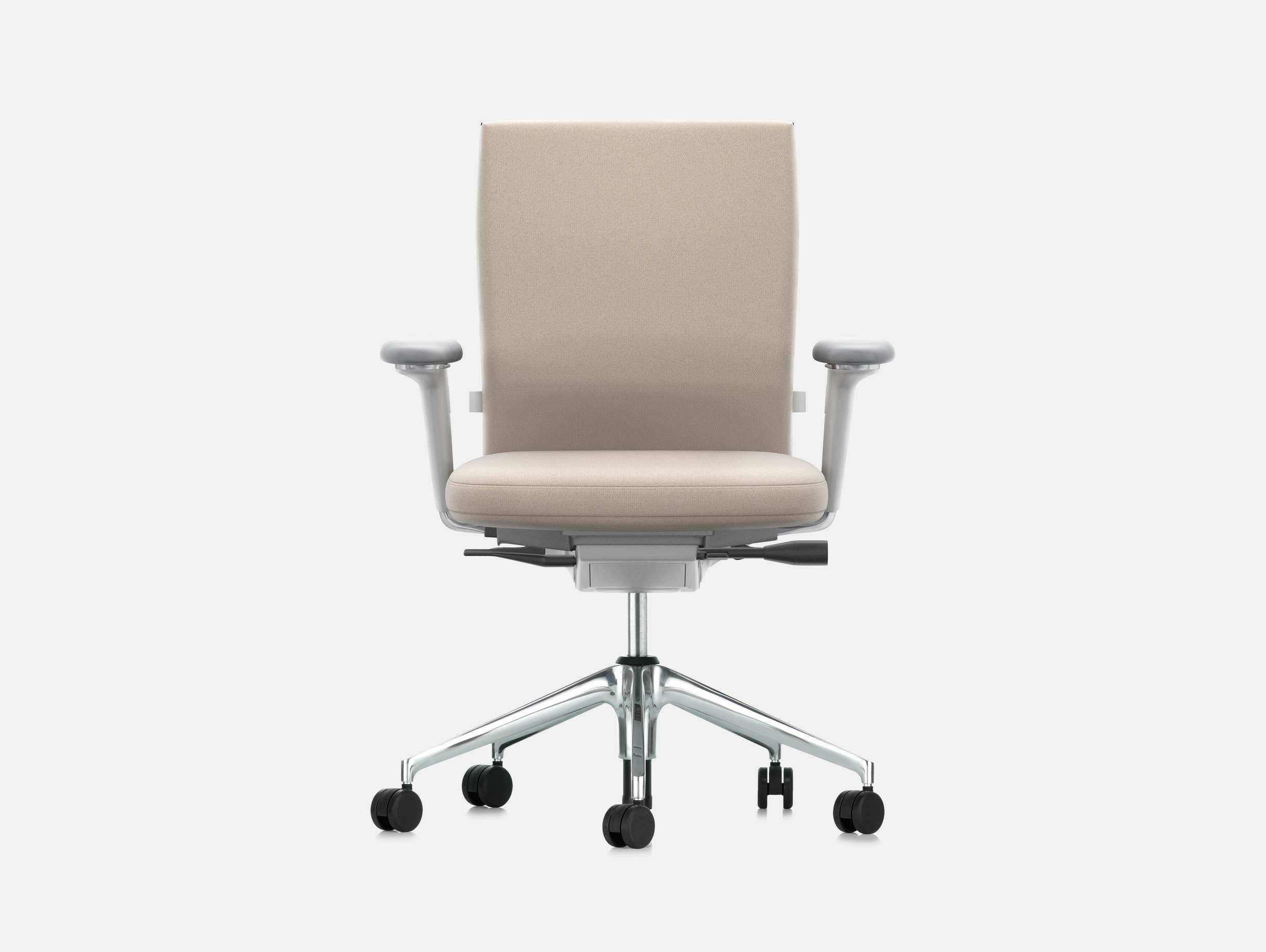 Vitra Id Soft Office Chair Cream Antonio Citterio