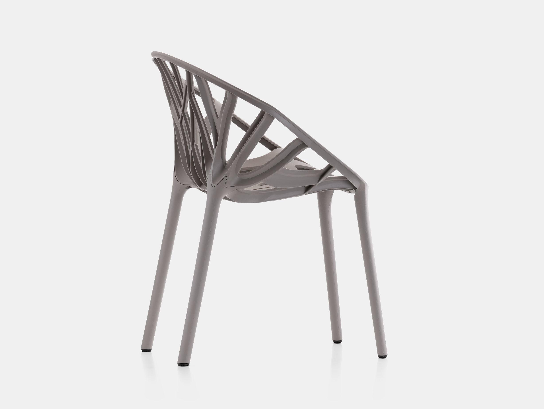 Vitra Vegetal Chair Mauve Grey Ronan Erwan Bouroullec