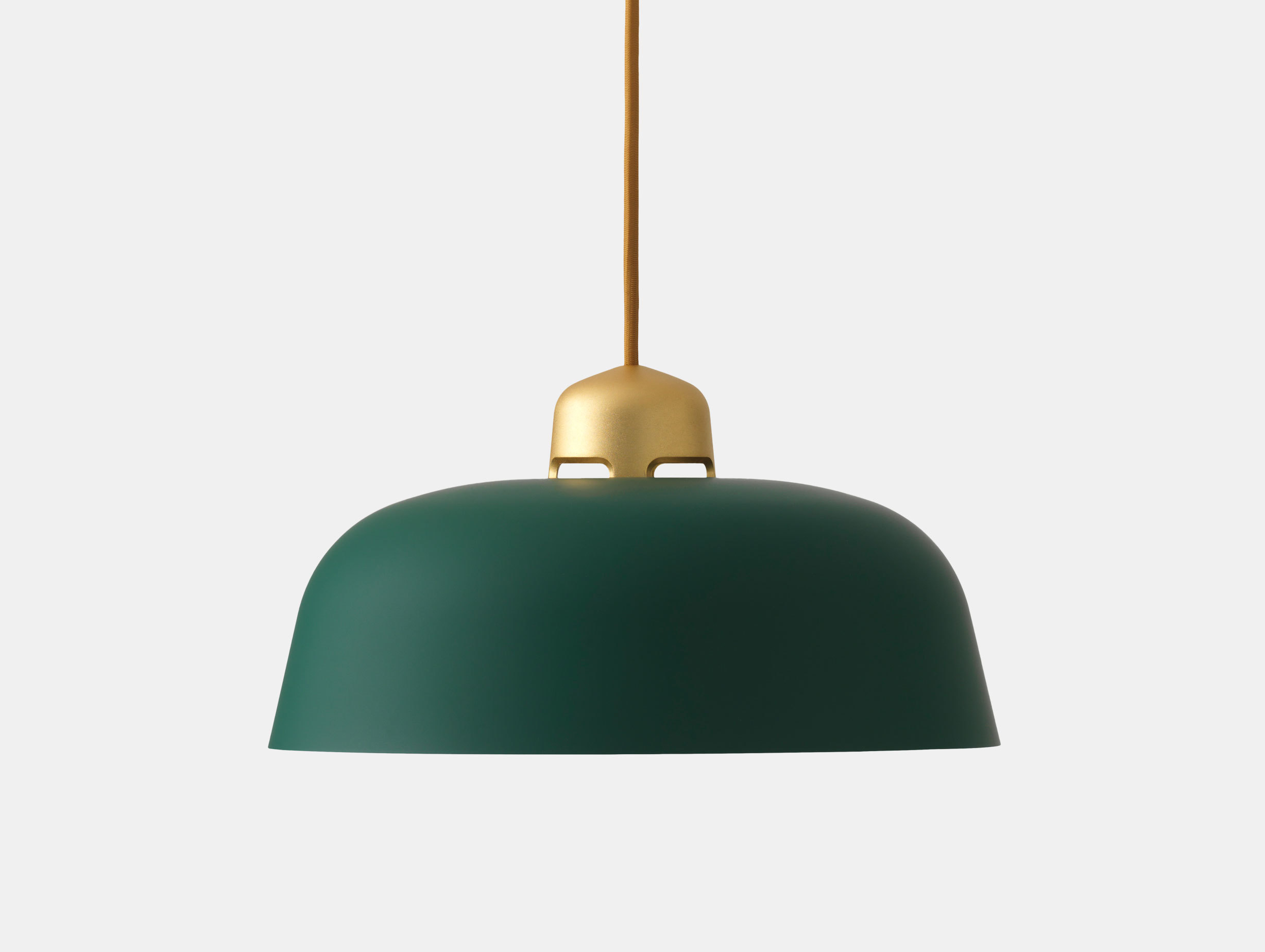 Wastberg W162 Dalston Pendant Light Gold Green Sam Hecht Kim Colin